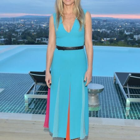 Gwyneth Paltrow wears Carolina Herrera in Hollywood Hills