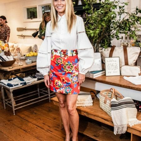 Gwyneth Paltrow wears Carolina Herrera to Goop Pop Up