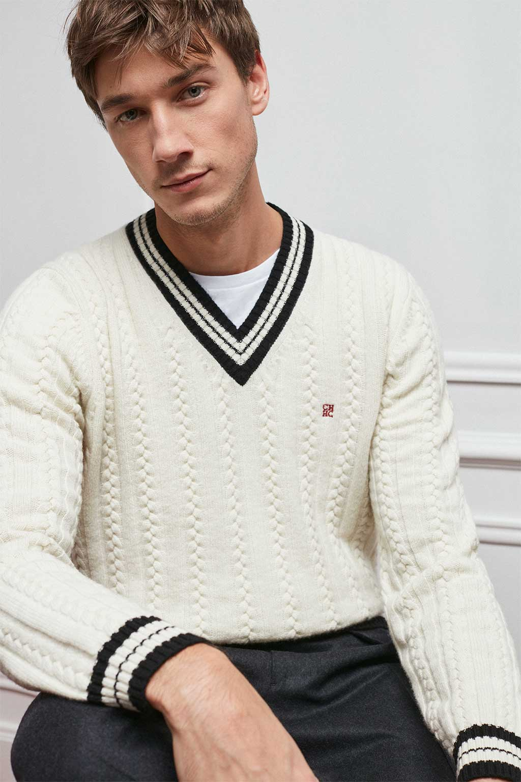 CH Carolina Herrera. New Menswear Collection Spring Preview. Look 04